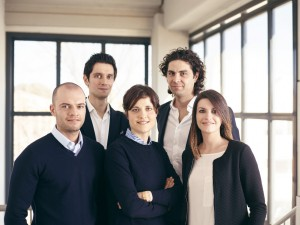 1.Foto team Bianchi e Nardi: da sinistra Gabriele Bianchi Andrea Nardi Laura Nardi Alessandro Nardi Giulia Bianchi